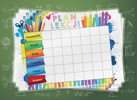 Plan lekcji na rok szkolny 2020/2021