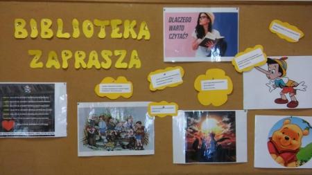Nowy Rok Szkolny w nowej Bibliotece Szkolnej.