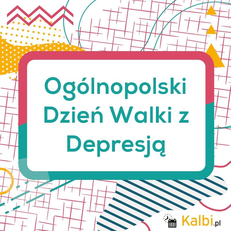 23.02.2021 Ogólnopolski Dzień Walki z Depresją