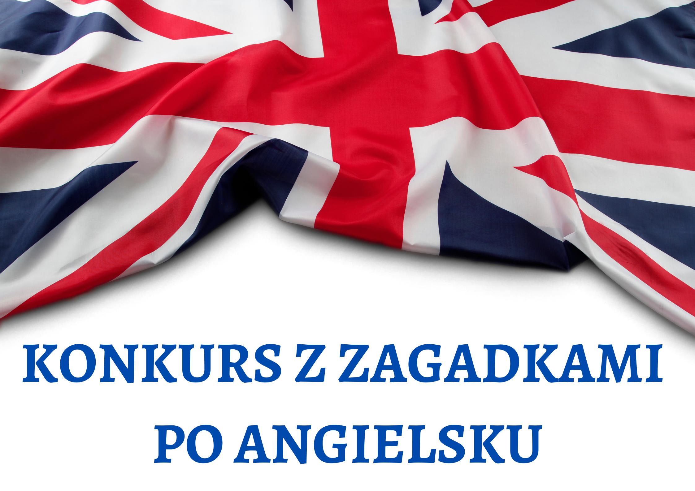 Konkurs z zagadkami po angielsku