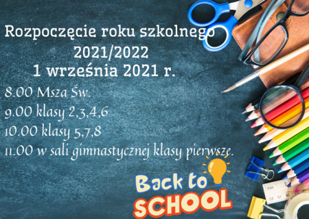 1 wrzesień 2021 rok